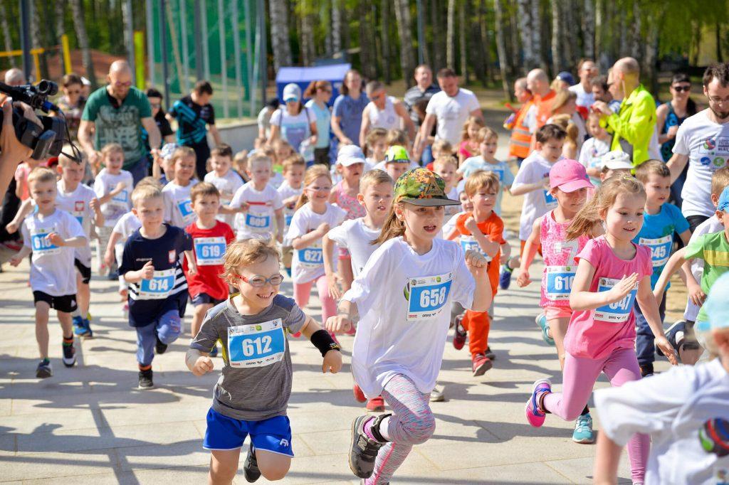 biegi dla dzieci
