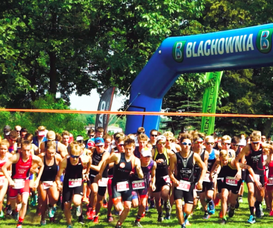 blachownia triathlon film